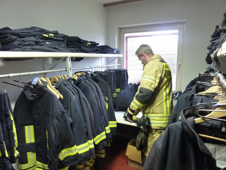 Bereitstellung von Schutzkleidung