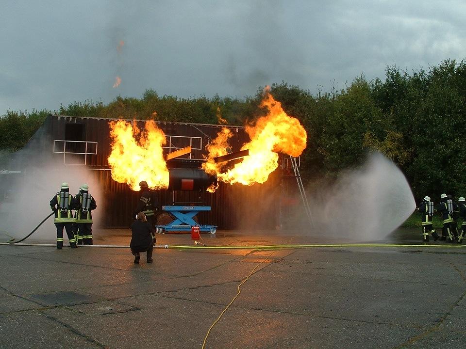 Triebwerksbrand