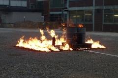 Flächenbrand von 20 m² bis 100 m²